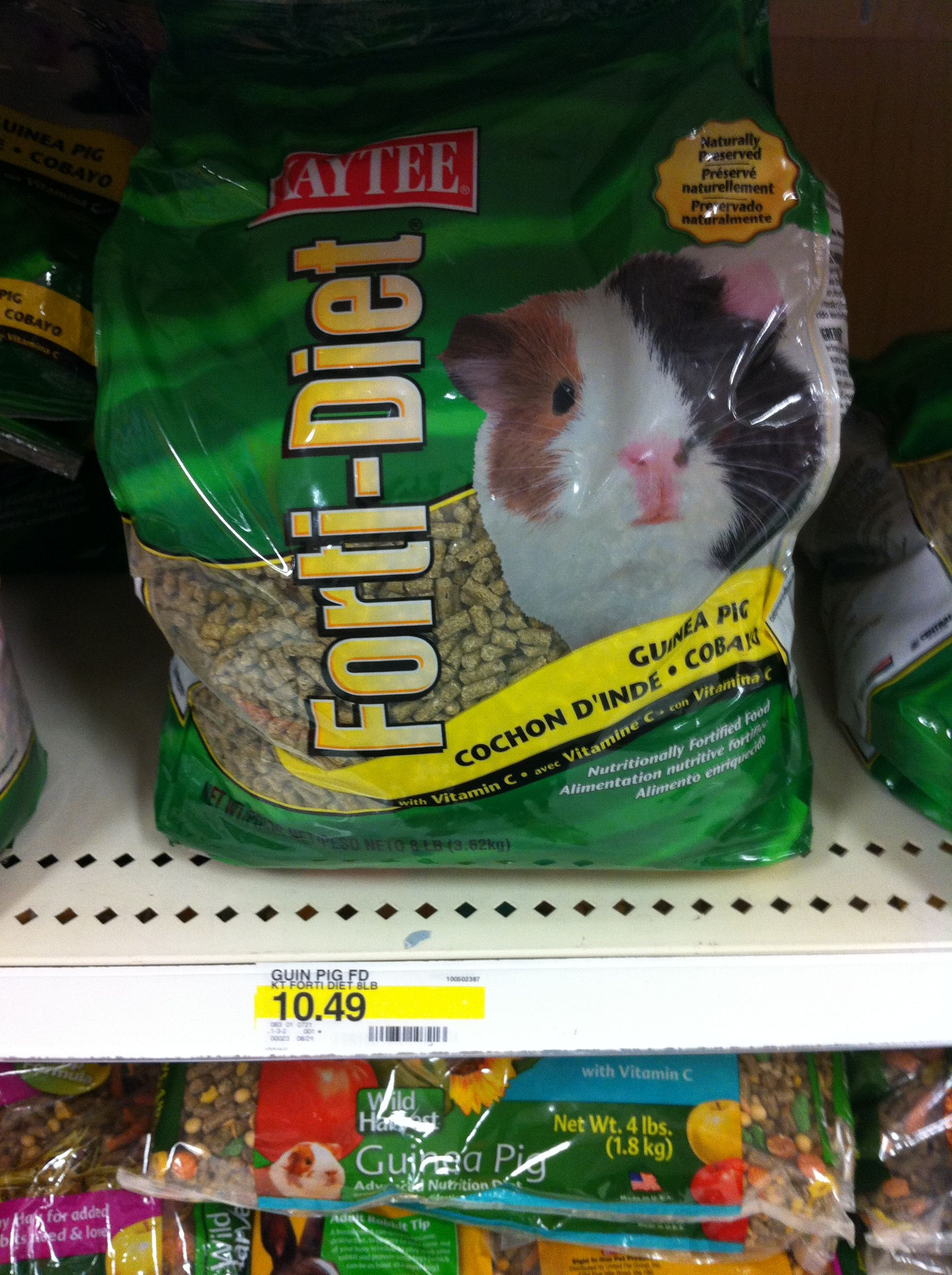 KayTee Guinea Pig pellets from Target