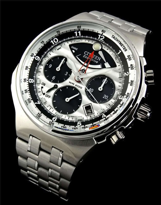 92165a0e3a58c4 NEW CITIZEN PROMASTER ECO-DRIVE 200m ALARM CHRONOGRAPH SPORTS WATCH  AV0030-60A in Jewelry & Watches | eBay