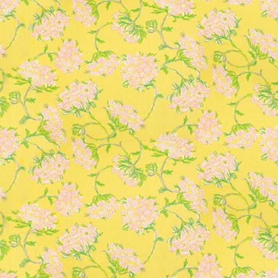"""Racy Lacey"" in Dandelion by Lilly Pulitzer by Lee Jofa"