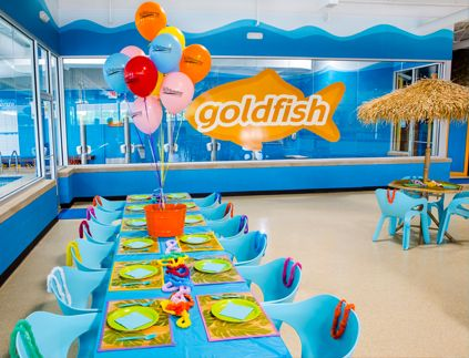 Party Venue Goldfish Swim School Kids Parties Pinterest Swim Pools And Birthdays