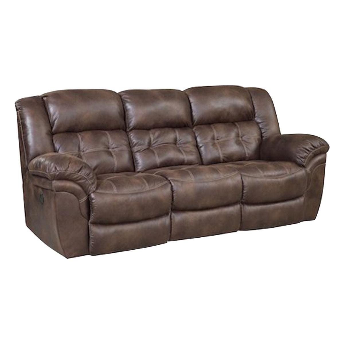 Nettleton Frontier Double Reclining Sofa In Chocolate Nebraska Furniture Mart Reclining Sofa Sofa Recliner