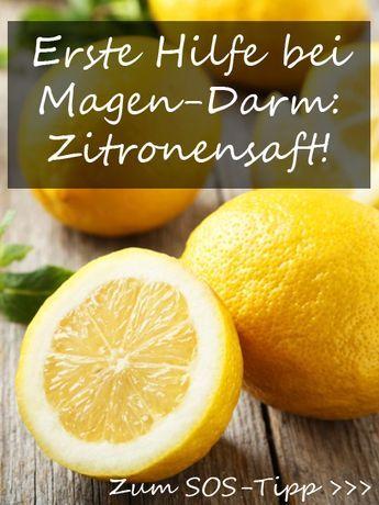Zitronensaft gegen Noroviren  – erste Hilfe! | Wunderweib