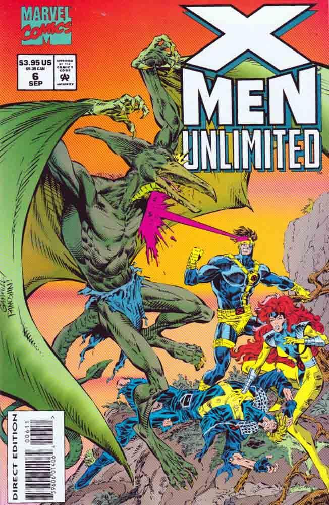 X Men Unlimited 6 Primal Scream By John Francis Moore Included Bonus Pinups By Jae Lee Gary Frank C Comics Marvel Comics Drawing Marvel Drawings