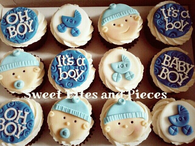 Baby Shower Cupcakes For Boys
