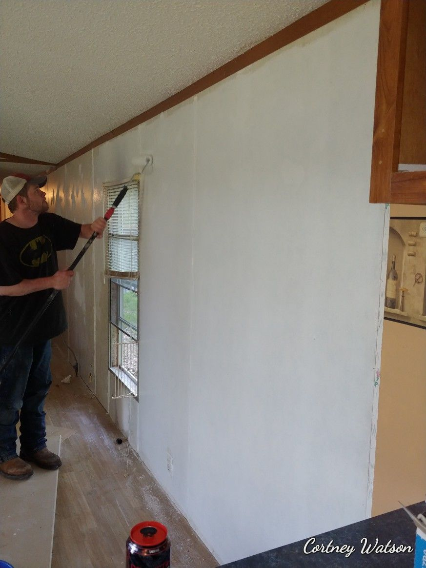 Pin On Mobile Home Trailer Remodel