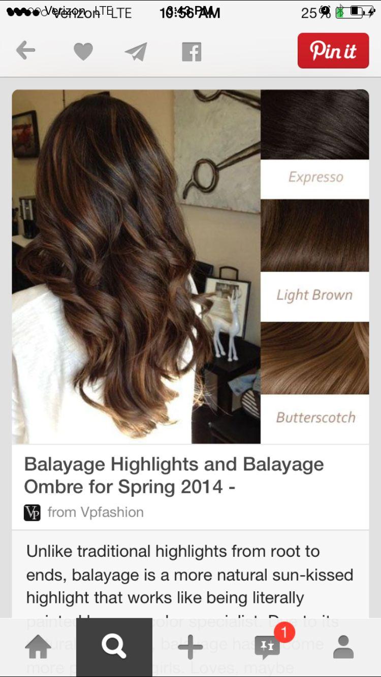 Balayage Highlights And Balayage Ombre For Spring 2014 Hair Styles Long Hair Styles Hair Highlights