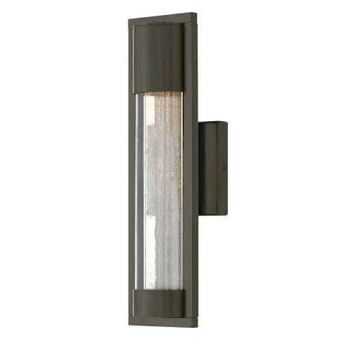 Hinkley lighting 1220 1 light ada compliant outdoor wall sconce from the mist collection satin