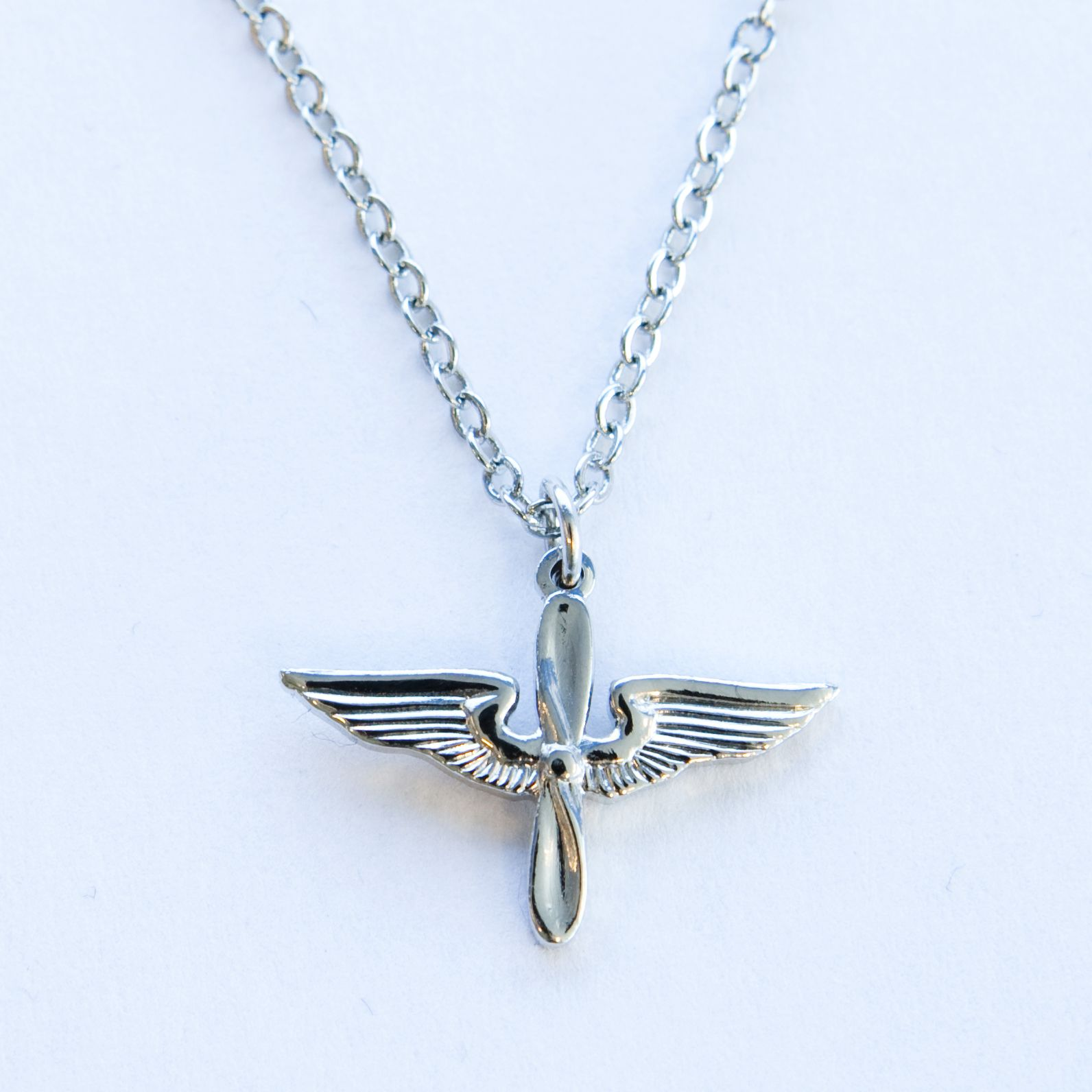 Prop wings necklace us air force academy association of prop wings necklace us air force academy association of graduates gift shop aloadofball Choice Image