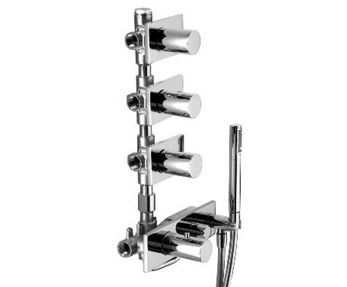 #Fantini #Milano #thermostatic for #Shower 4714B 4714A | on #bathroom39.com at 1585 Euro/pc | #taps #mixer #modern #thermostatic #bath #design