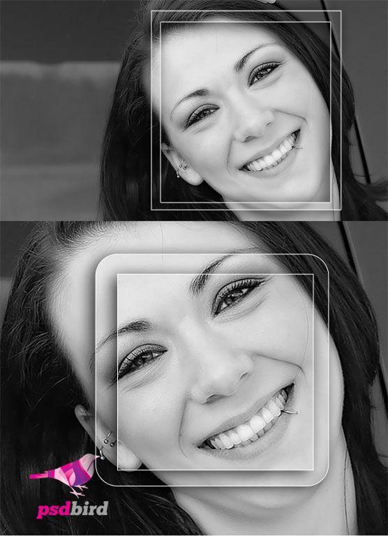 Glass style Photo Frame PSD | Layer Styles (.asl) | Pinterest ...