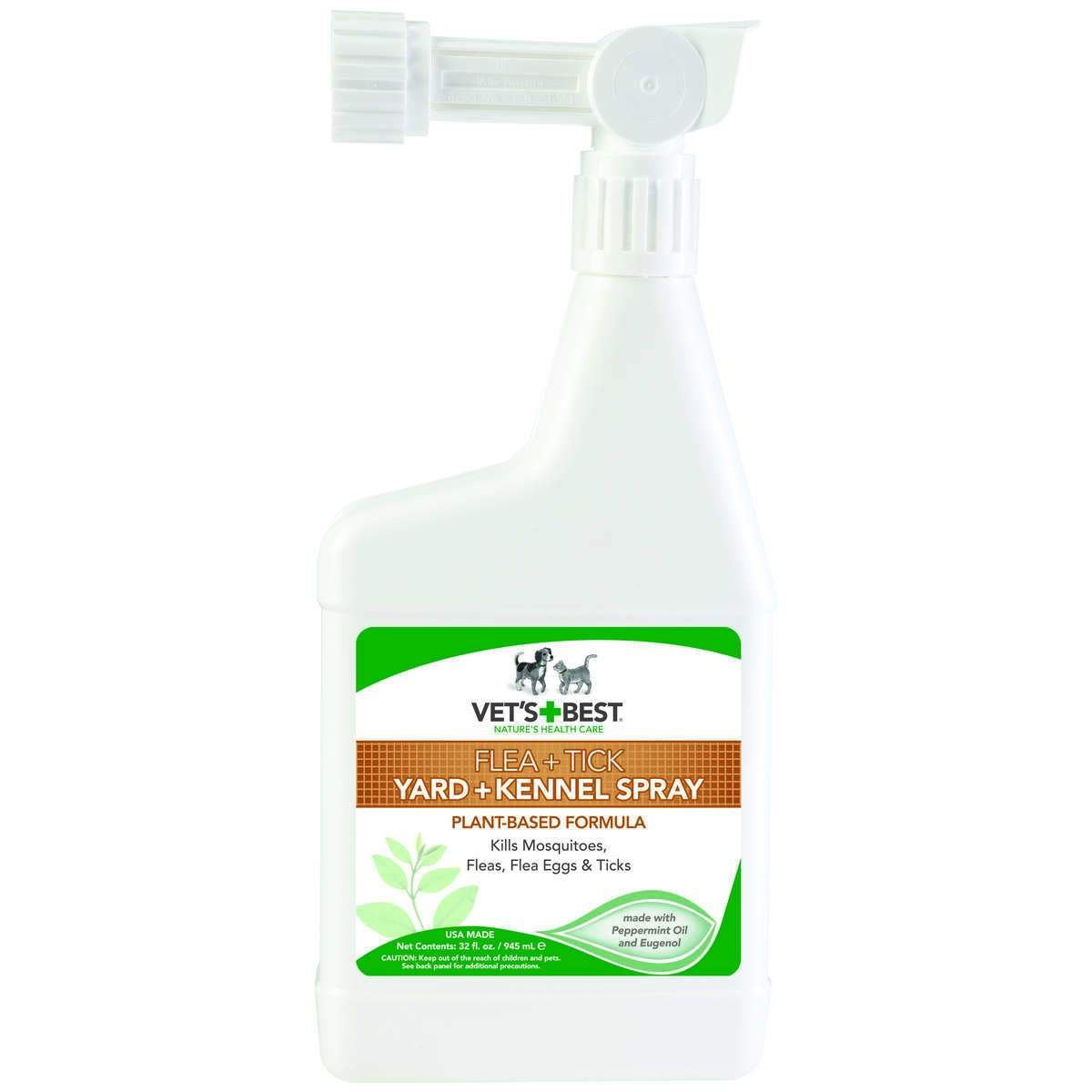 Vet's Best Pet Flea And Tick Yard And Kennel Spray 32oz