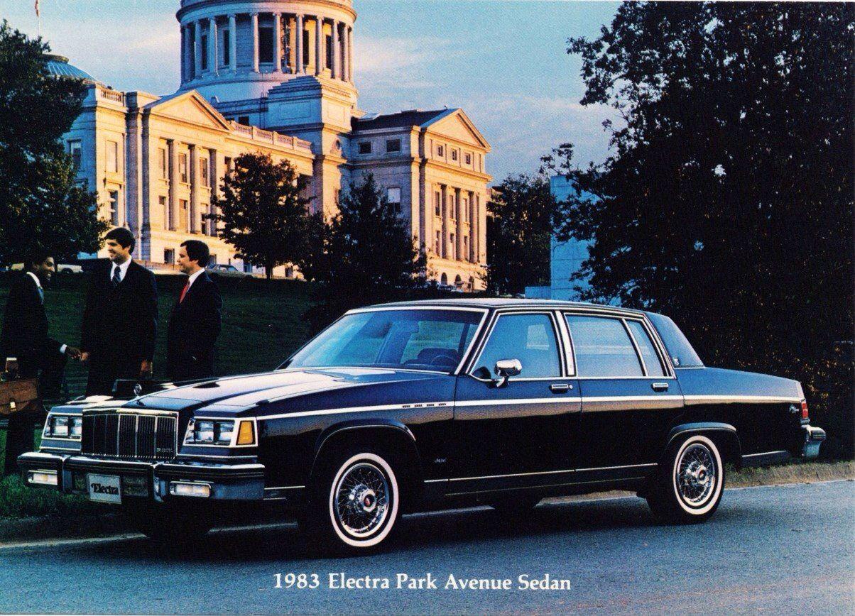 1983 Buick Electra Park Avenue 4Door Sedan Maintenance