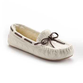 sonoma style 174 sweater moccasin slippers