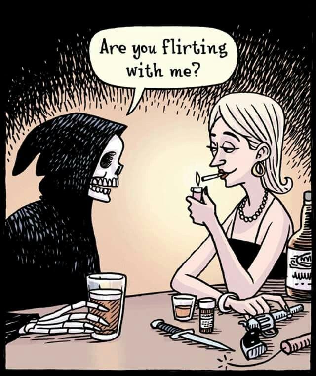 Schwarzer Humor Liebe