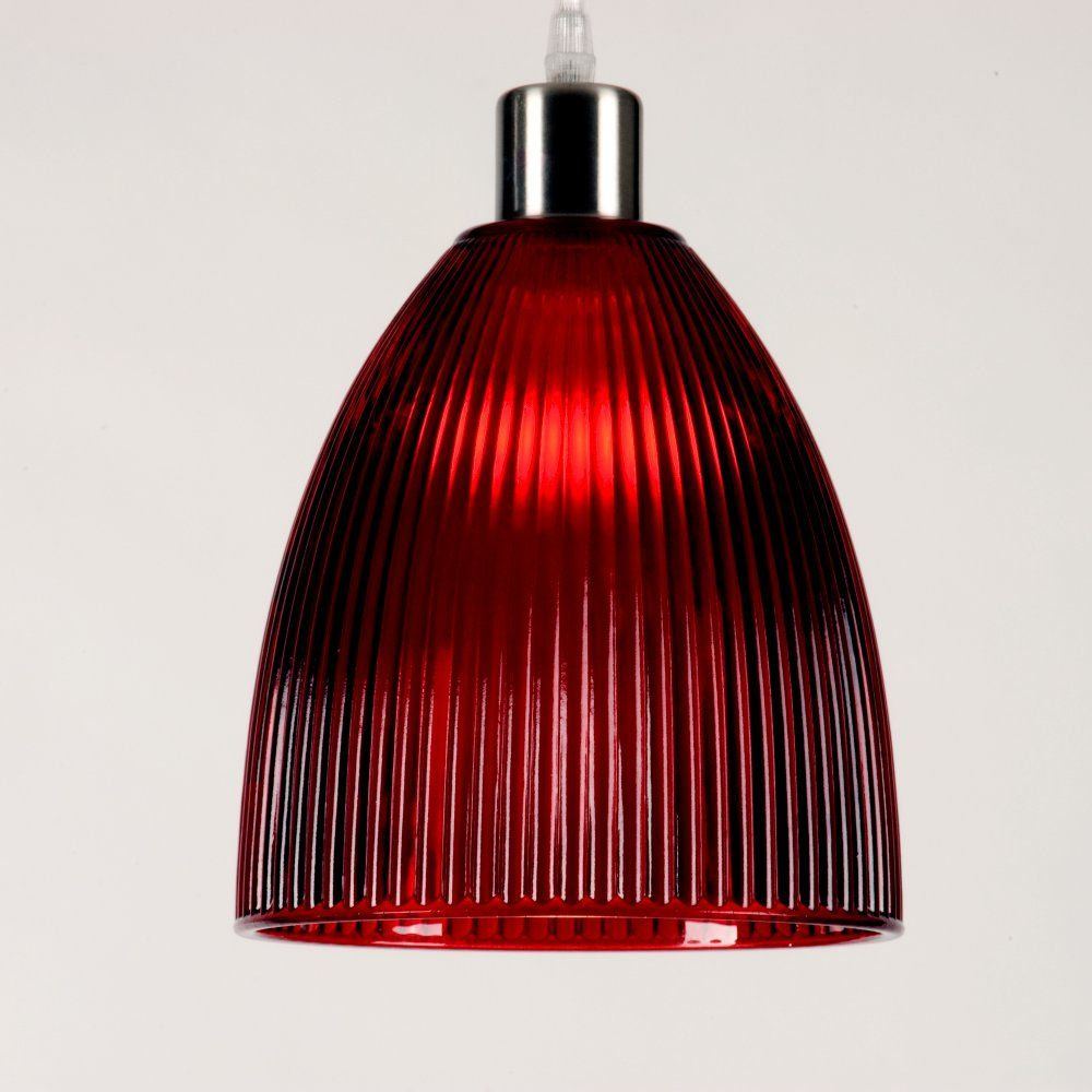 Red Glass Pendant Lights View All Modern Ceiling Lighting
