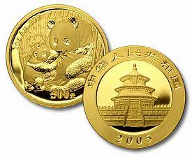 2005 Chinese Panda 24K