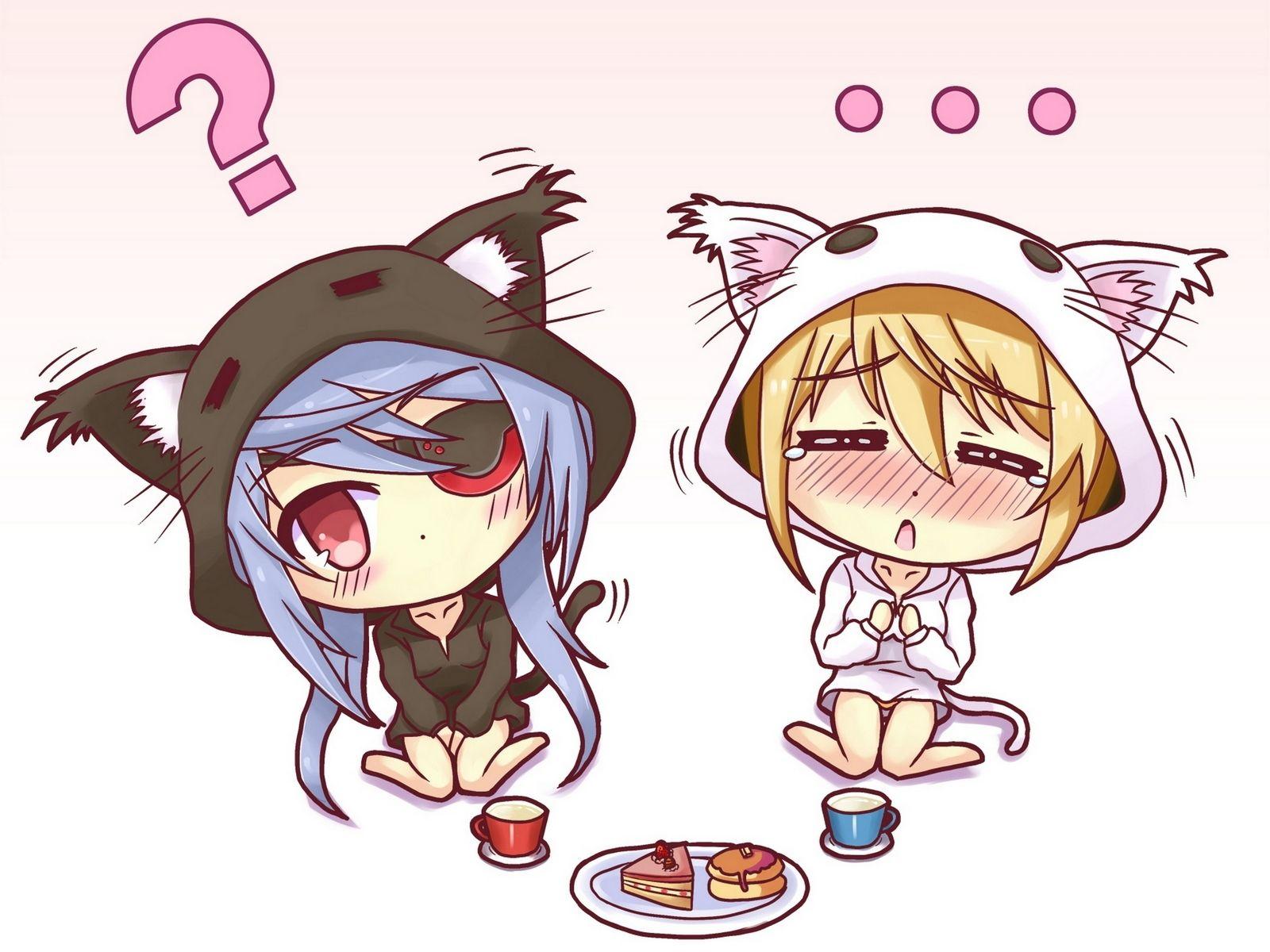 anime love chibi Google Search Kitten drawing, Chibi