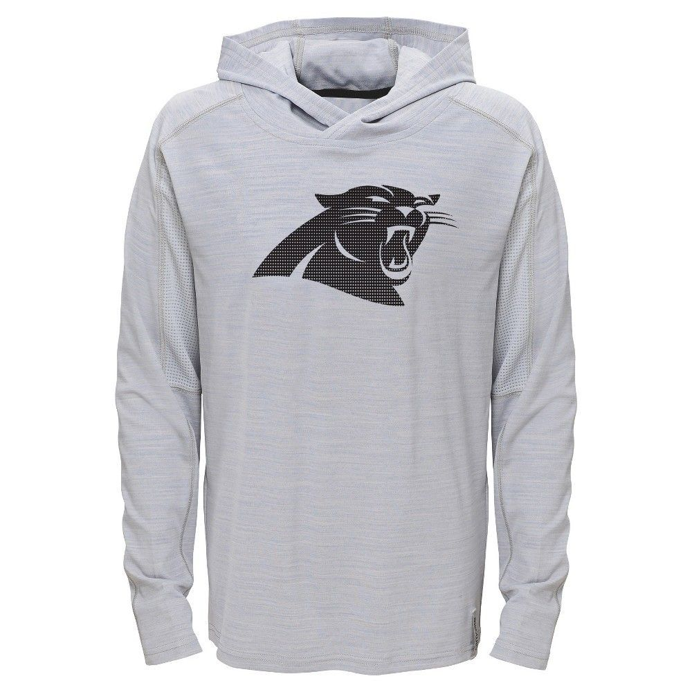 timeless design a625c 2b1d3 Carolina Panthers Boys' Lightweight Gray Pullover Hoodie - L ...