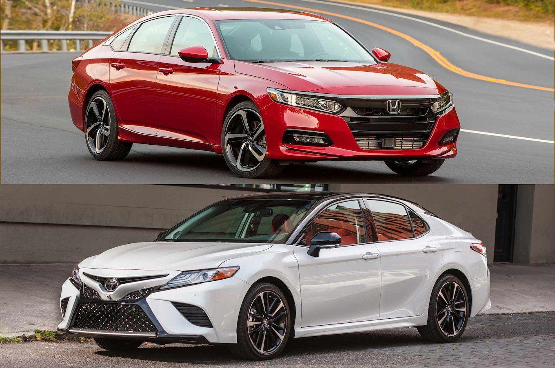 2019 Toyota Camry Vs Honda Accord Reviews From Refreshing Or