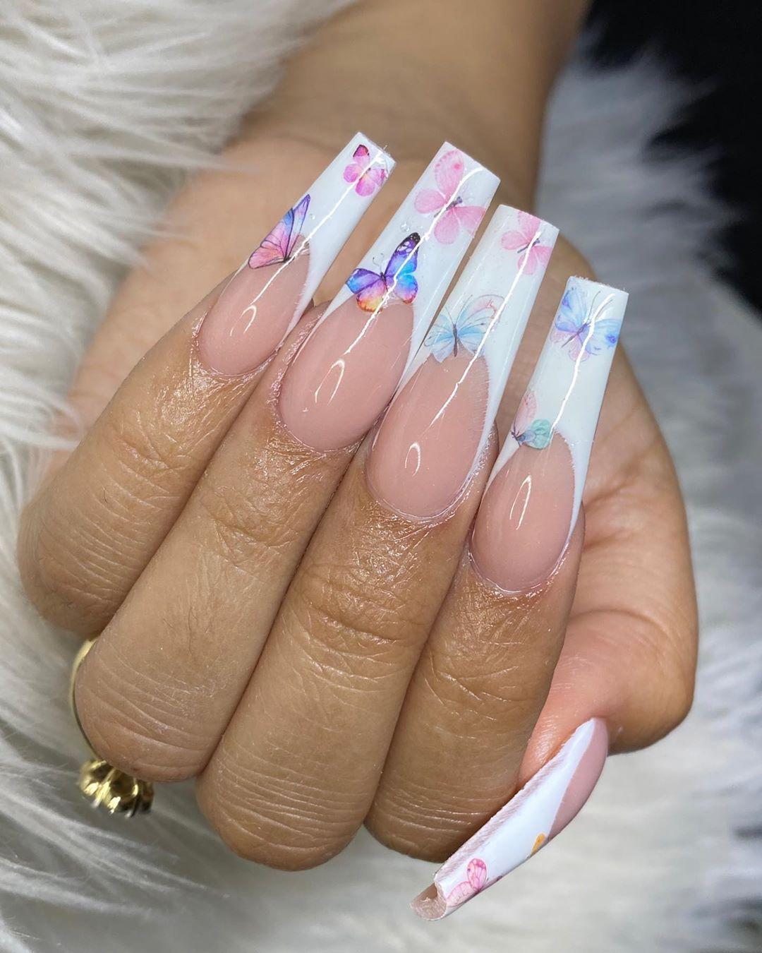 Nailedbysamanthaa On Instagram Inspiration Pinterest Acrylic Montagenail In 2020 French Tip Acrylic Nails Coffin Nails Designs Summer Pretty Acrylic Nails