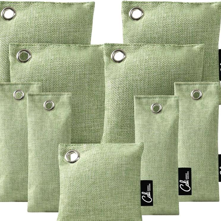 California Home Goods 9 Piece Activated Bag Purifying for