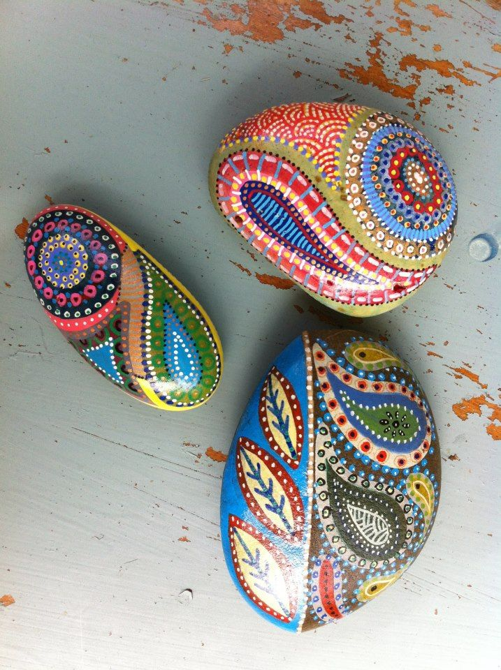 ROCK ART - Inspired by Paisley and nature