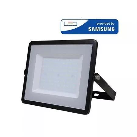 Projecteur Led V Tac Pro Noir 10w A 300w Samsung Chip Vt 100 En 2020 Projecteur Led Projecteur Appareillage Electrique