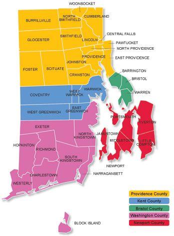 rhode island city map Rhode Island Living About Rhode Island Rhode Island Rhode rhode island city map