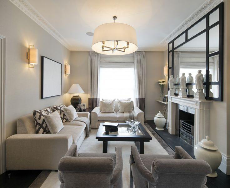 Small Rectangular Living Room Decorating Ideas Di 2020 Desain