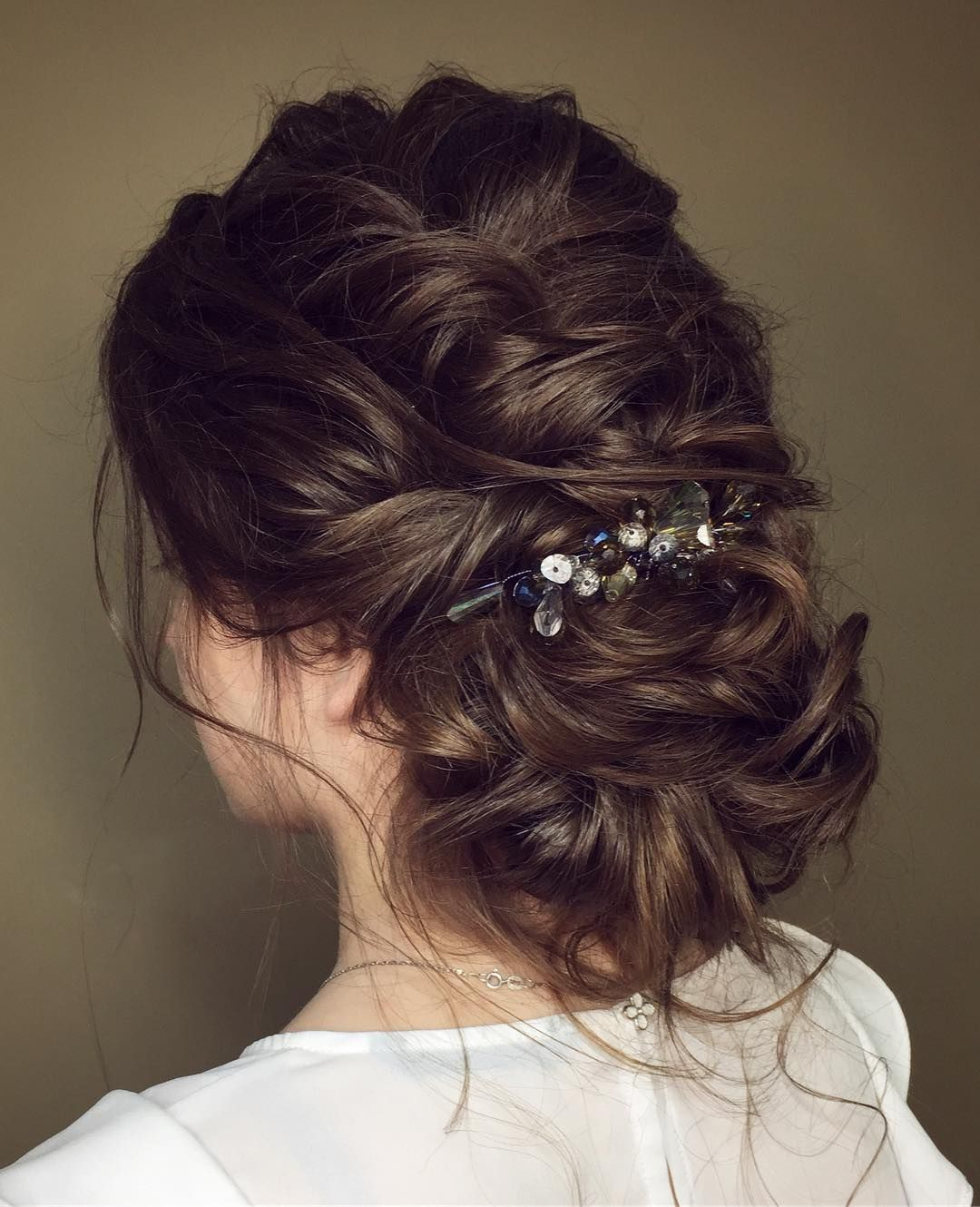 messy wedding hair updos for a gorgeous rustic country