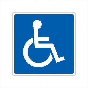 P Behindertenparkplatz Schild Behinderten Parkplatz Aufkleber Behindertenparkplatz