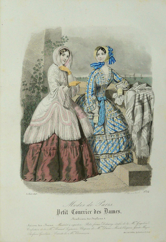 August, 1848 - Petit Courrier des Dames