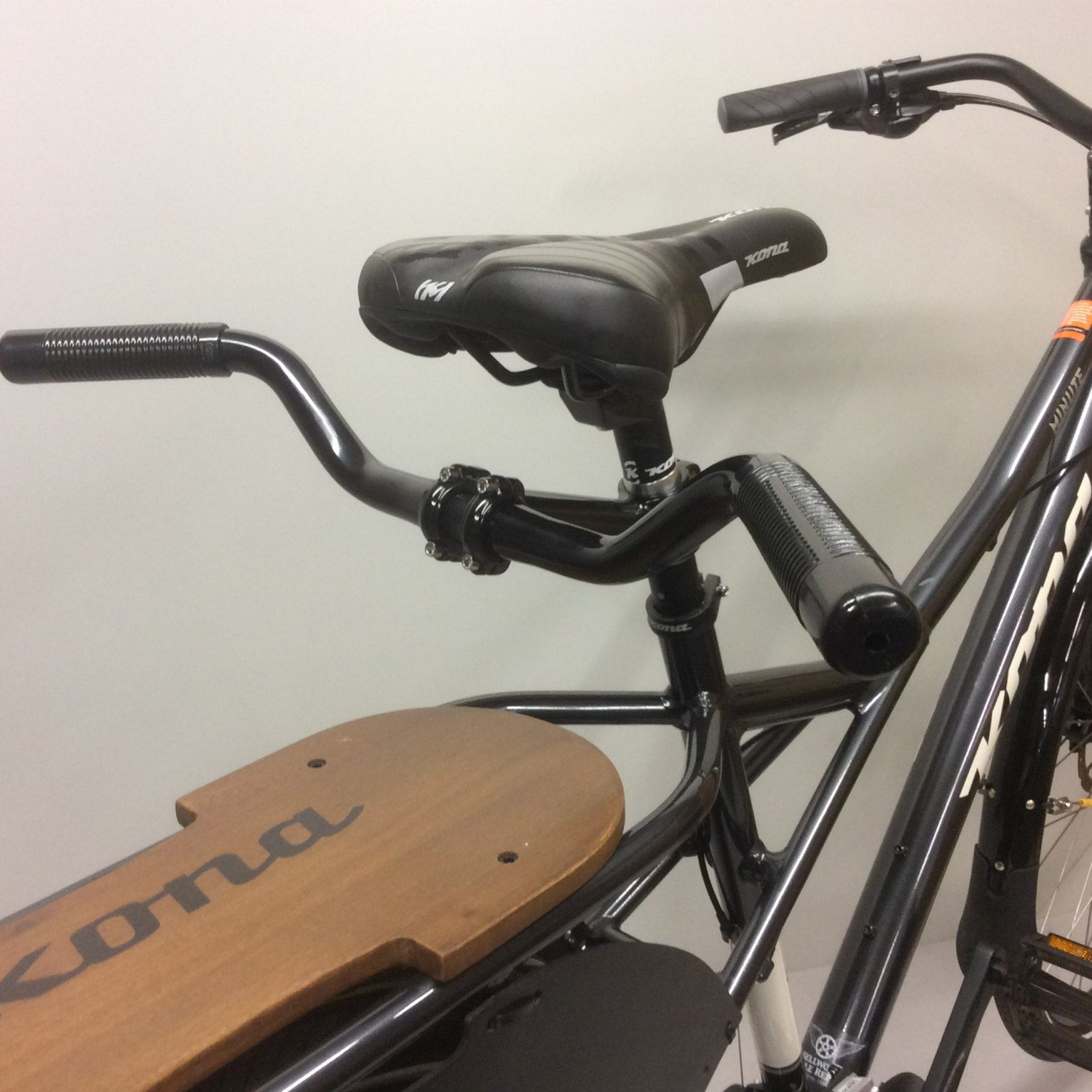 The Stokerbar Attaches To Seatpost Of Kona Minute Or Ute Cargo Bicycle Any Bike With A 28 6mm Diameter Requires At Least 2 Exposed