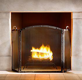 Restoration Hardware Fireplace Hearth Hearth Fireplace