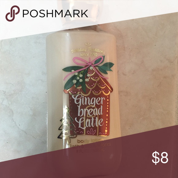 Bath And Body Works Lotion- Ginger Bread Latte