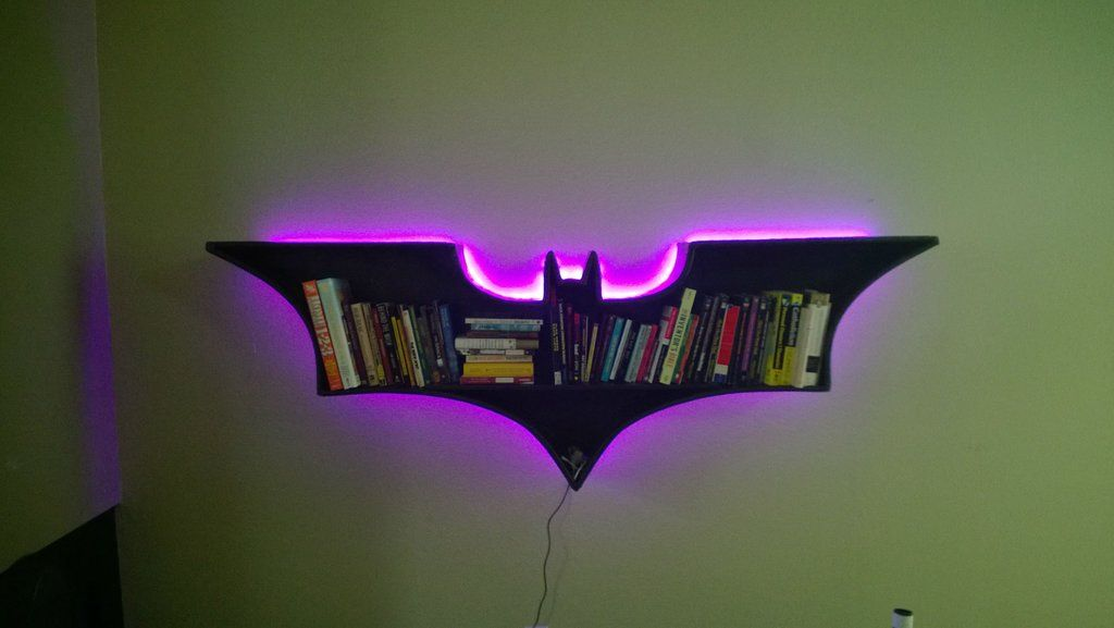 Batman Bookshelf DIY In 2018