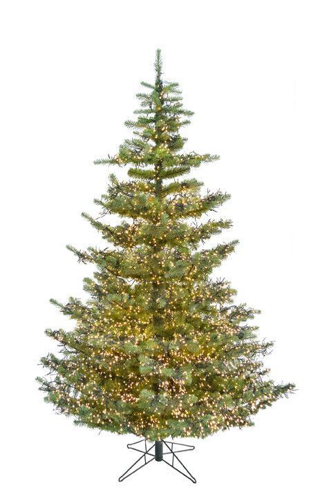 7 39 Green Forest Artificial Tree Clear Cluster Led Lights Msrp 1 099 99 Pre Lit Christmas Tree Christmas Tree Artificial Christmas Tree