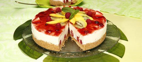 Cheesecake tropical (não vai ao forno)