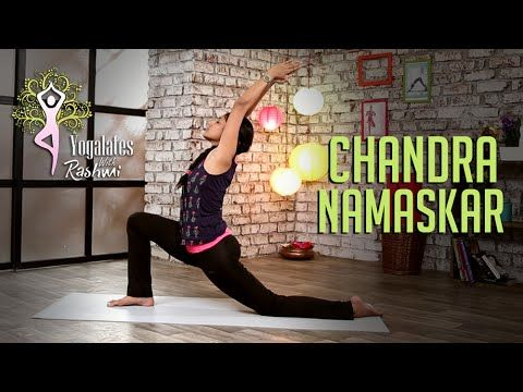 chandra namaskar  stepstep  moon salutation
