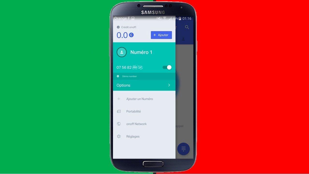 Comment Avoir Un Faux Numero De Telephone Onoff School Application Mobile Application