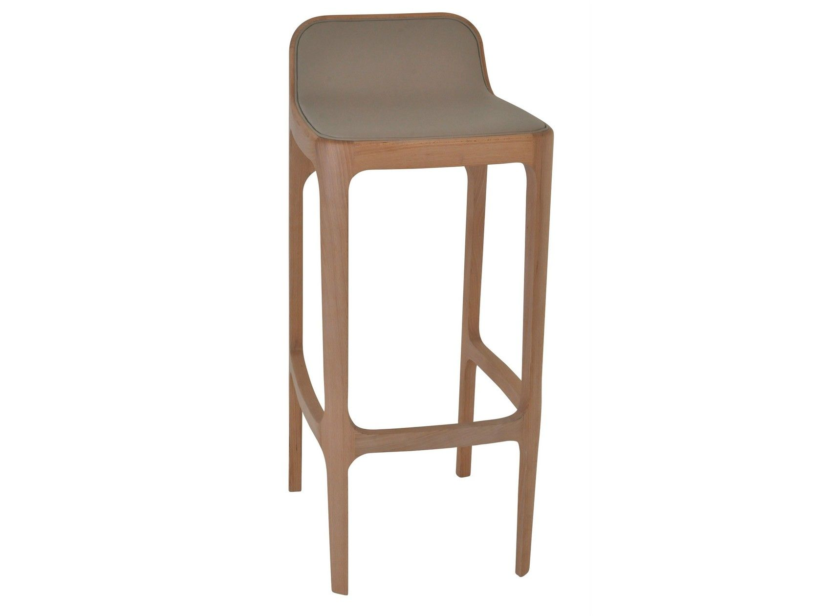 Sgabello in legno yume sgabello by perrouin furniture