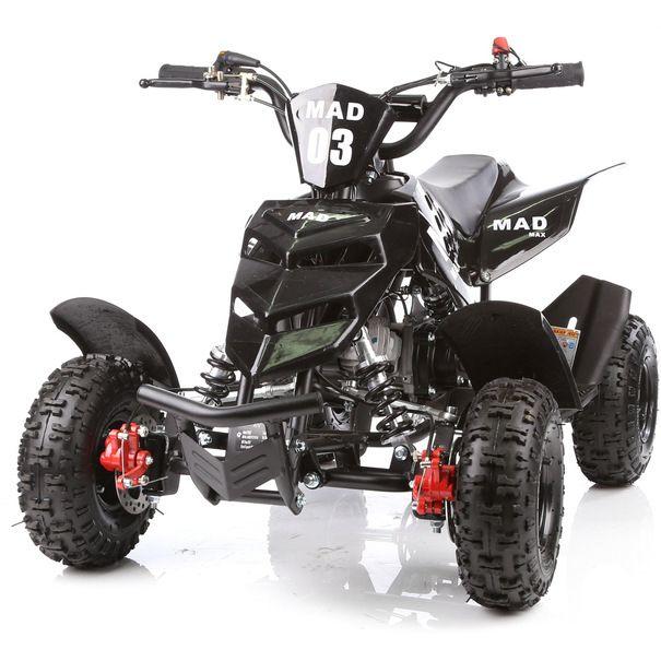 2018 Black 49cc Mini Quad Bike Atv Buggy Kids 4 Wheeler Pocket