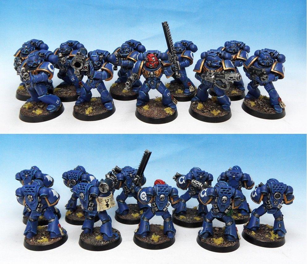 Ultramarines Tactical Squad IX
