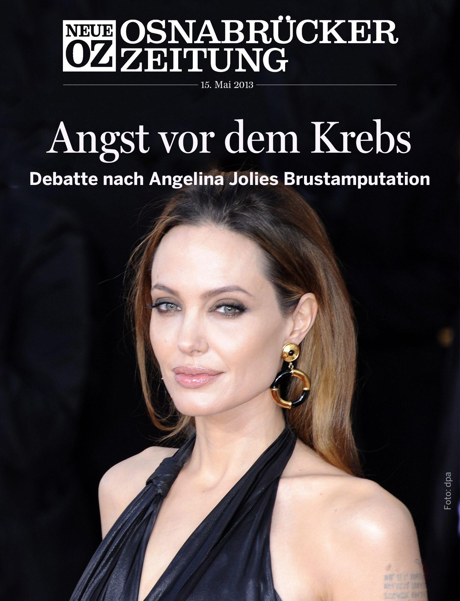 Die Angst vor dem Brustkrebs: In unserer aktuellen iPad-Ausgabe (15.05.2013) beschäftigen wir uns mit dem Feind im eigenen Körper...  www.noz.de/digitalabo