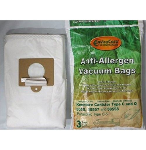 Kenmore Style Q HEPA Cloth Vacuum Bags