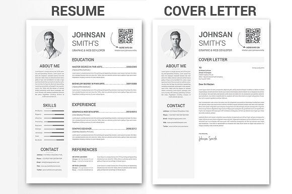Clean Resume Template By Creative Designer On Graphicsauthor