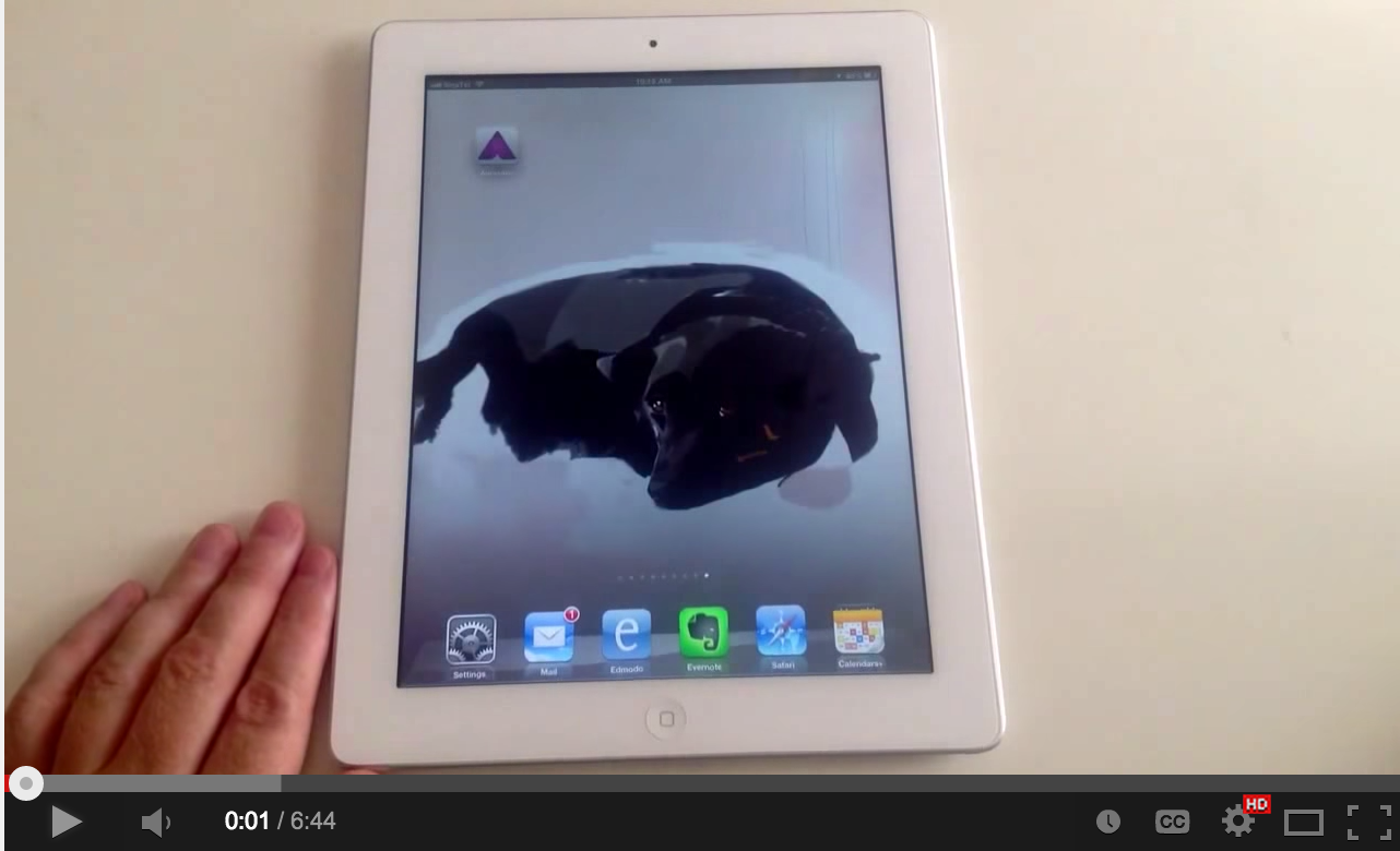 Video Tutorials for Teachers on Using Augmented Reality