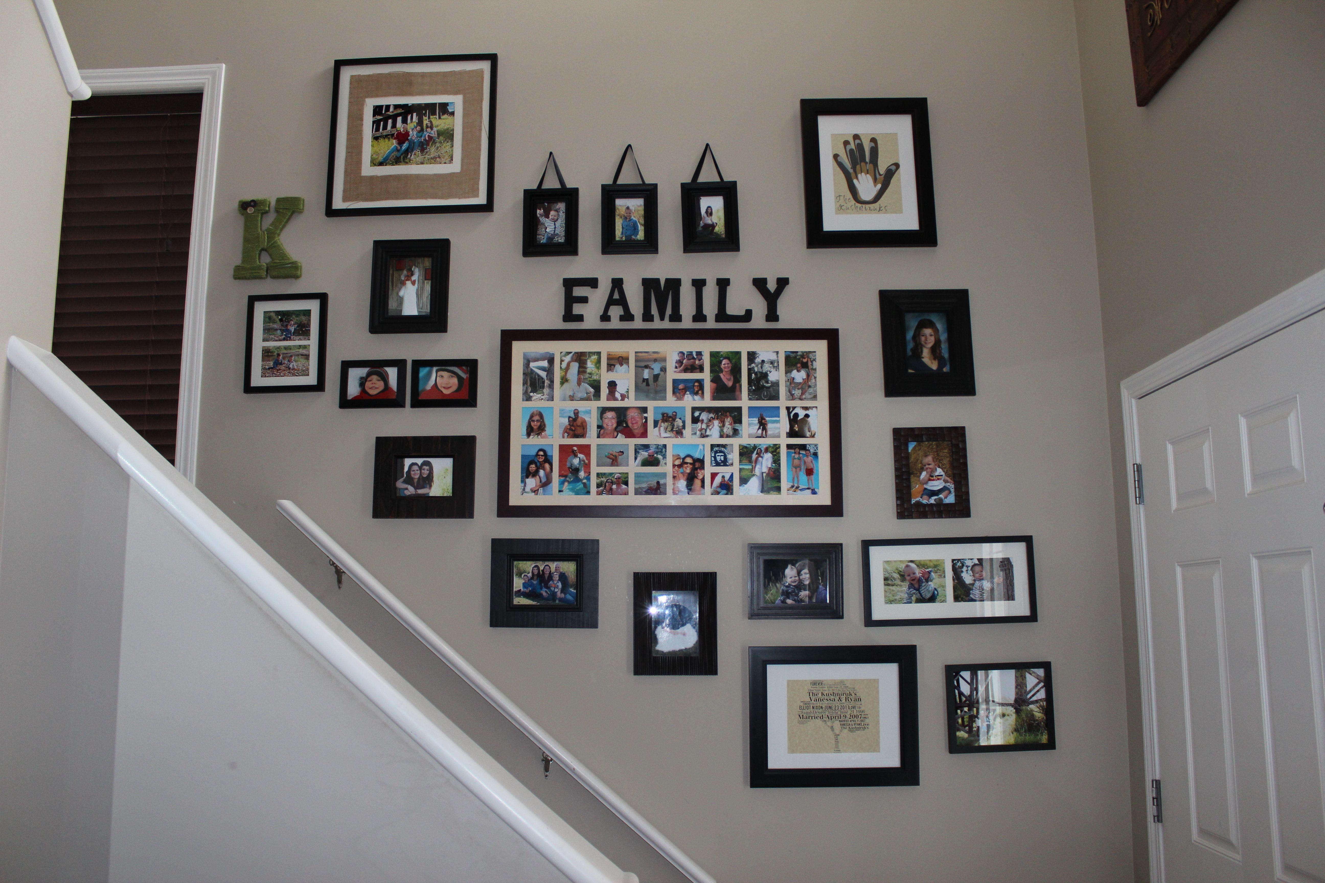 Where To Hang Family Photos