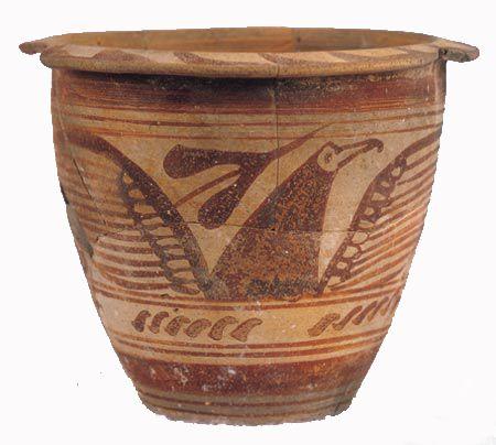 Urna de barro torneado y cocido  Siglo VII a.C  ESPAÑA