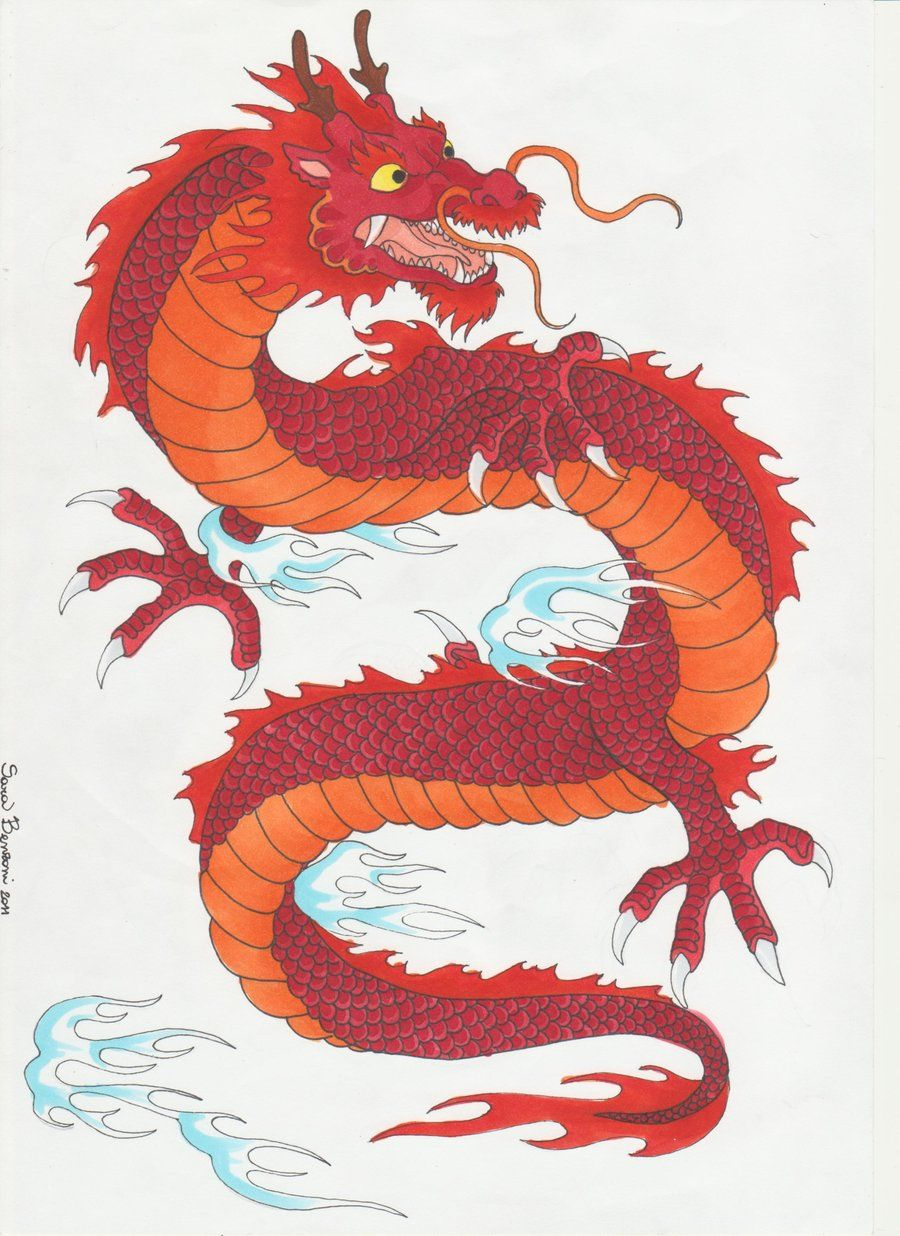 Traditional Japanese Dragon  Google Search